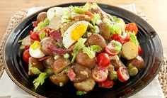 Bring this make-ahead salad to your next gathering...All-Dressed Potato Salad
