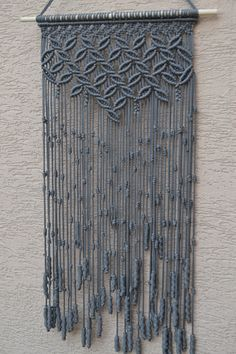 Macrame Wall Hanging by Mrcolmar on Etsy