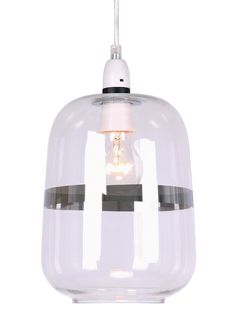 Barrel shaped clear glass easy fit shade with a silver chrome stripe detail. Dimensions: x Weight: Bulb. Home Furnishing Accessories, Home Furnishings, Interior Design Boards, Healthy Diet Tips, Clear Glass, Barrel, Chrome, Bulb, Shades