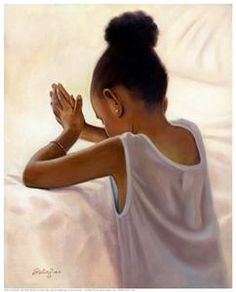 Black Art African American Bedtime Prayer by Sterling Brown African American Art, African Art, American Girl, Sterling Brown, Arte Black, Bedtime Prayer, Natural Hair Art, By Any Means Necessary, Black Artwork