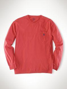 Classic-Fit Pocket Tee - Polo Ralph Lauren Tees - RalphLauren.com http://greatshirt.londonmusicalcenter.co.kr/