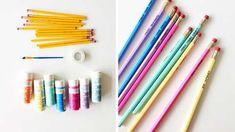 Mr Printables, Diy Pour La Rentrée, Simple Comme Bonjour, Diy Crayons, Diy Back To School, Pencil, Crafts, Organiser, Girl Boss