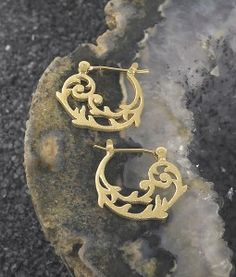 My favorite new Art Nouveau earrings by Jody Coyote. Enter to win at Susan Said What?!