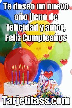 Feliz Cumpleaños - Te deseo un año lleno de prosperidad y bendiciones | Tarjetas - Postales - Wallpapers - Imágenes, Fotos, Roses, Fondo de Pantalla