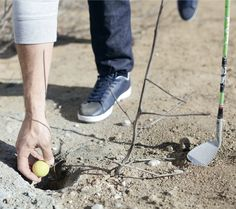 #Street #golfing in the city can look like a treasure hunt...