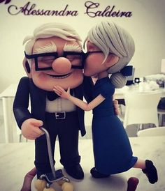 Couple Goals Teenagers Pictures, Love Couple Images, Couples Images, My Images, Up Pixar, Disney Pixar Up, Disney Cartoons, Disney Up Cake, Up Movie Quotes