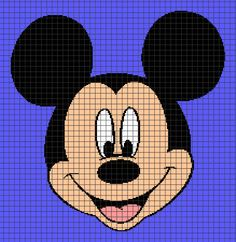 Looking for your next project? You're going to love MICKEY MOUSE 03 Graphghan Pattern by designer YarnLoveAffair.