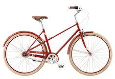PUBLIC M8i Mixte Bike - Red