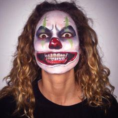 Scary Clown Makeup, Scary Clowns, Halloween Face Makeup, Haunted Maze, Amanda Palmer, Organic Face Products, Halloween Make Up, Halloween Costumes, Organic Makeup