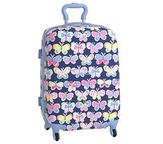 Hard Sided Large Luggage, Mackenzie Tropical Butterflies