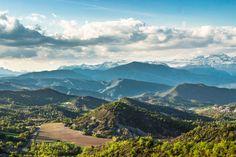 "View on the mountainous chain ""Pyrenees"" _______________________ #Nature #Natureza #montanhas #mountains #nuvens #clouds #Paisagem #landscape #Spain #Espanha"