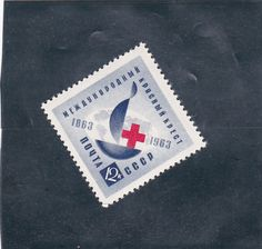 Russia/USSR 1963 - Red Cross - stamp Mi#2788 MNH