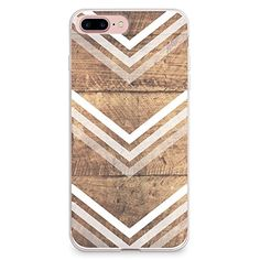 iPhone 7 Plus Case CasesByLorraine Wood Print Chevron Arrow TPU Soft Gel Protective Cover for Apple iPhone 7 Plus G10 >>> You can find out more details at the link of the image.