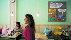 Brunch Café. Uma casa de chá atrevida