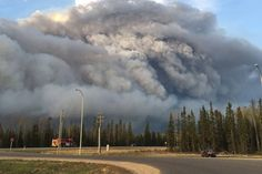 05/18/2016 - Fort McMurray wildfire grows to 423K hectares, grew by about 20 per cent overnight.