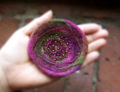 Pin - Felted Wool,  via Etsy. Really like these