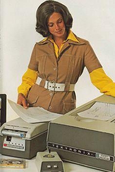 Tektronix 4631 Hard Copy Unit, 1976