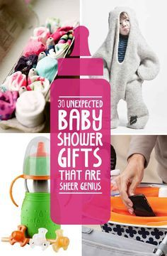 30 Unexpected Baby Shower Gifts That Are Sheer Genius - Some AWESOME stuff here!! .