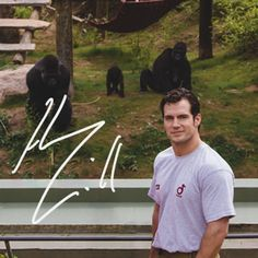Henry Cavill - Henry Cavill Launches Campaign to Support Durrell Wildlife Conservation Trust