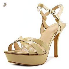 Vince Camuto Peppa Women US 10 Nude Platform Heel - Vince camuto pumps for women (*Amazon Partner-Link)