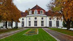 Die Gebäude im Königlichen Kurgarten Bad Reichenhall: die Konzertrotunde