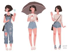 My recent outfits look good together ☔️