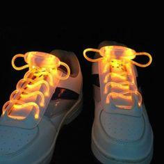LED light-up shoelaces...legit! Lol!