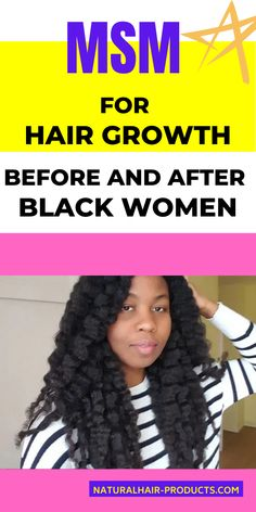 Click to see more... MSM METHOD – GROW YOUR HAIR 1 INCH IN A WEEK Hair growth is one of the major concerns for all of us. You may have tried a lot of home remedies, hair products, a healthy diet and also hair growth… #naturalhair #kinkycurly #hairgrowth