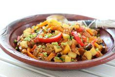 Gerogian eggplant stew