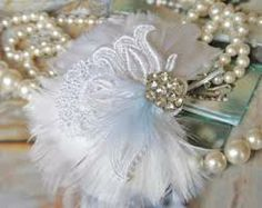 Love lace & pearls... with a little bling