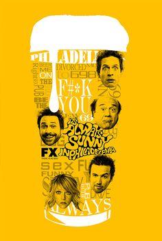 It's Always Sunny in Philadelphia - poster - Volkan Topkaya