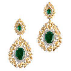 Textured Gold Leaf #Earrings   Product Code : ADERL1400030 Type : Green Hydro, Swarovski #Color : Green , Yellow  #SilverEarringsOnlineShopping, #SilverEarringsOnlineIndia  #SilverEarringsIndia  #SilverEarringsOnline  #BuySilverEarringsOnline  #SilverEarringsForWomen  #SilverEarring  #DesignerSilverEarrings  #BuySilverEarrings