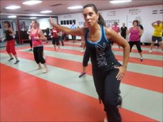 Kardio Kim Johnson leads another great 1 hour Zumba Fitness class at Chesterton Martial Arts  Fitness. 2013 August www.ChestertonMartialArts.com  www.KardioKim.com