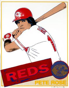 Pete Rose by Andy Warhol