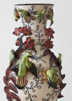The work of South Africa's Ardmore Ceramics is highly original. From HAND/EYE Magazine's 09/South Africa issue available at www...