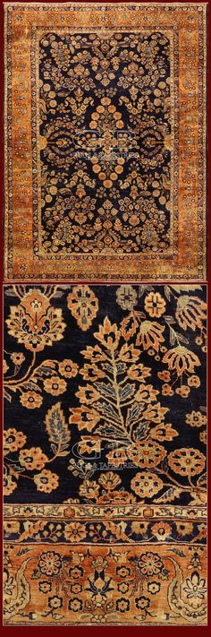 ANTIQUE SAROUK RUG IRAN - 443 X 325 CM - 14.53 X 10.66 FT - COD. 141604137699