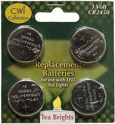 Replacement Batteries, 3 Volt