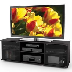 Tv Fiji 60 Inch Component Bench Black Sonax Fb 2600 Ravenwood New Free Shipping