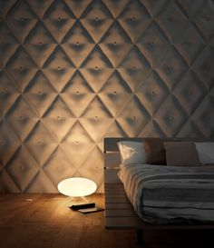 Wall panels are used to enhance the Interior decoration of the rooms. Here we are presenting 50 examples of creative Wall Panels, so check them out. Parametrisches Design, Loft Design, Design Ideas, 3d Wall Tiles, Wall Tiles Design, Textured Wall Panels, 3d Wall Panels, 3d Wall Decor, Bathroom Wall Decor