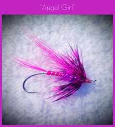 Win an Angel Girl Fly, Support Casting for Recovery. Like our Facebook Page for a chance to WIN! www.facebook.com/gorgeflyshop1