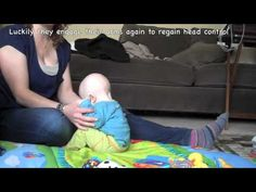 Developing Head Control with Pull to Sit -  -  Pinned by @PediaStaff – Please Visit http://ht.ly/63sNt for all our pediatric therapy pins