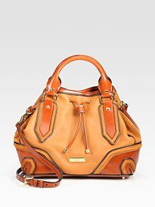 83a6988756a0 Burberry Prorsum - Brown Earlesburn Leather and Suede Tote - Lyst