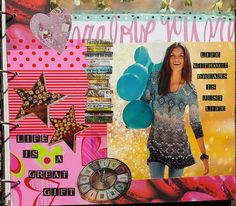 Art Journaling - conny / Aquarelle,Collage,Pastell,Acryl,Mixed Media