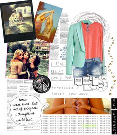 """""""i miss u"""" by vicky-a-toth ❤ liked on Polyvore"""
