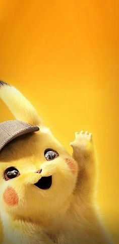 Detective Pikachu - Pokemon about you searching for. Pikachu Pikachu, Pikachu Kunst, O Pokemon, Cute Pokemon Wallpaper, Kawaii Wallpaper, Cute Wallpaper Backgrounds, Cute Cartoon Wallpapers, Animes Wallpapers, Wallpaper Art
