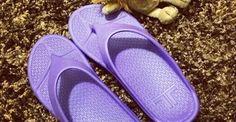 Singer Lesley Chiang posts her Telic Flip Flops on Instagram