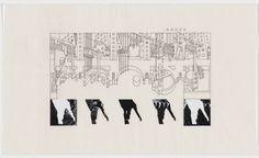 Bernard Tschumi. The Manhattan Transcripts Project, New York, New York, Episode 4: The Block. 1980-81