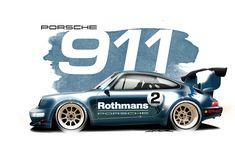 Risultati immagini per rwb porsche 911