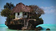 The Rock Restaurant, Zanzibar.
