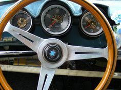 early instrument cluster
